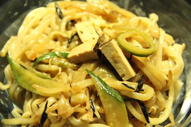 Spaghetti di riso con germogli di soia saltati piccole for Lecitina di soia in cucina